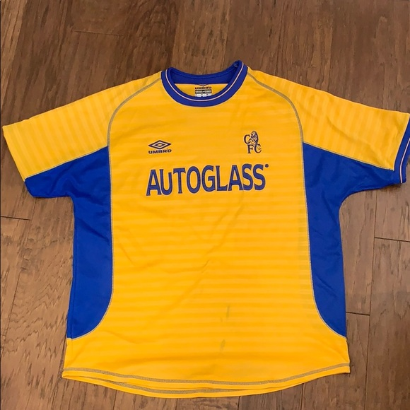 outlet store 9ce73 c5782 Retro Chelsea FC soccer kit (jersey)